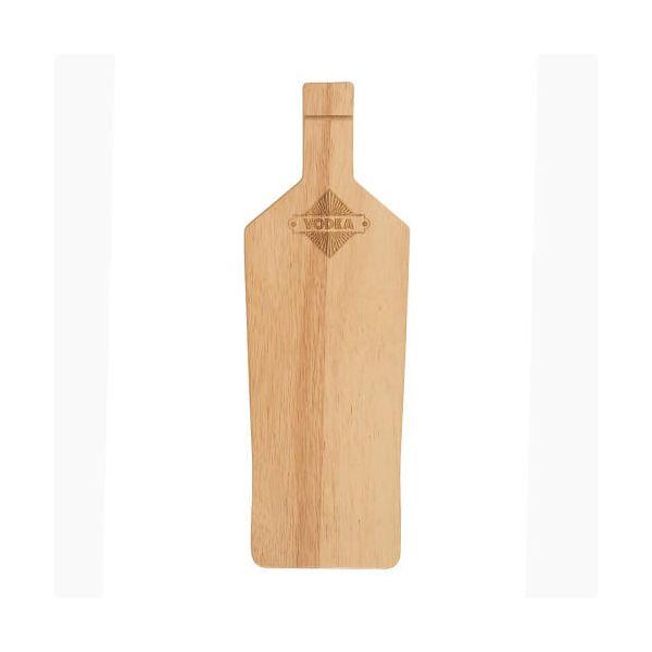 T&G Hevea Vodka Bottle Bar Prep Board