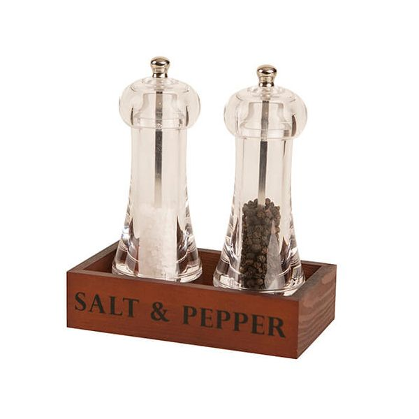 T&G Capstan Acrylic Mill Gift Set With Wooden Crate