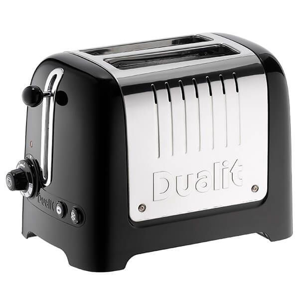 Dualit Lite 2 Slot Toaster Gloss Black