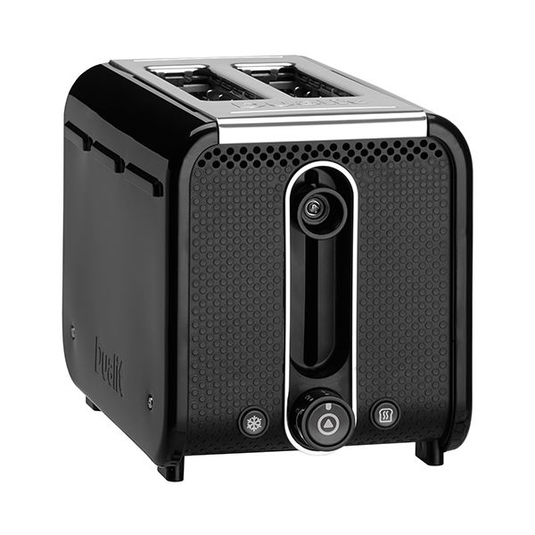 Dualit Studio 2 Slot Toaster Black/Polished