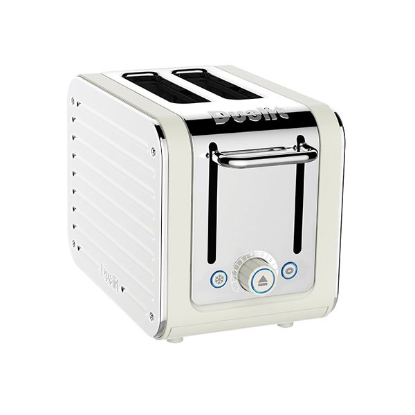 Dualit Architect 2 Slot Canvas Body With White Panel Toaster