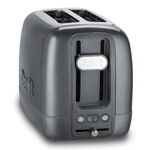 Dualit 2 Slot Domus Toaster Grey