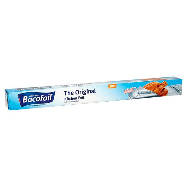 Bacofoil The Original Kitchen Foil - 45cm x 10m