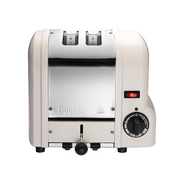 Dualit Origins White 2 Slot Toaster