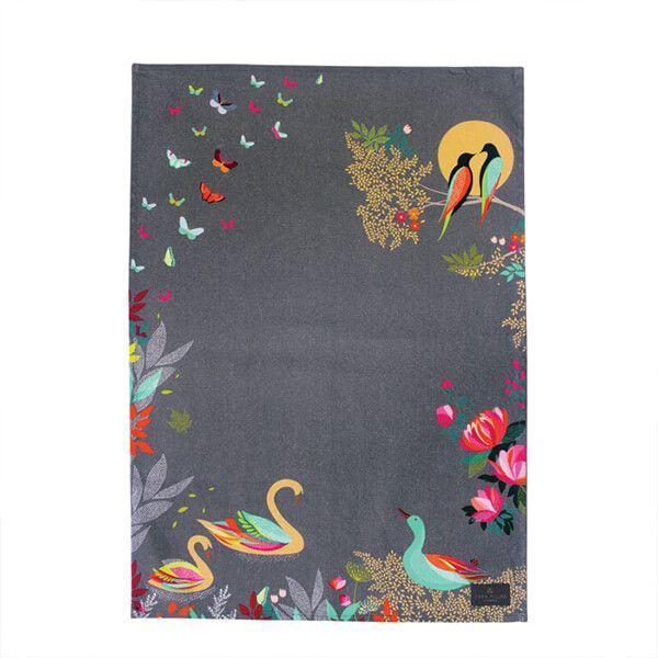 Sara Miller Swan Tea Towel