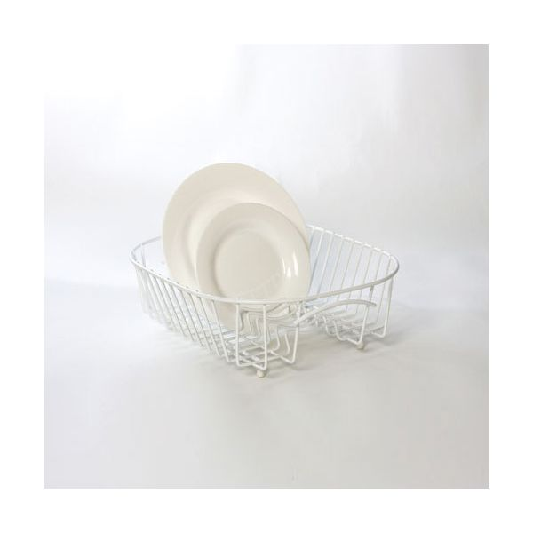 Delfinware Wireware White Plate Sink Basket