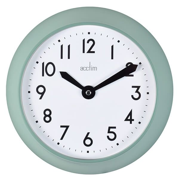 Acctim Wixham Wall Clock Matt Green