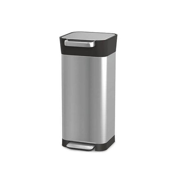 Joseph Joseph Titan Stainless Steel 20L Trash Compactor Bin