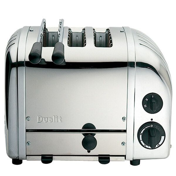 Dualit Classic Vario AWS Combi Polished 2 + 1 Slot Toaster
