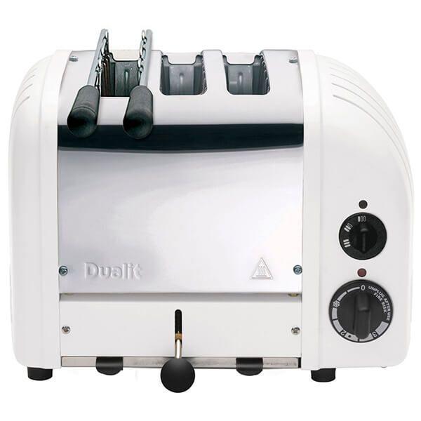 Dualit Classic Vario AWS Combi White 2 + 1 Slot Toaster