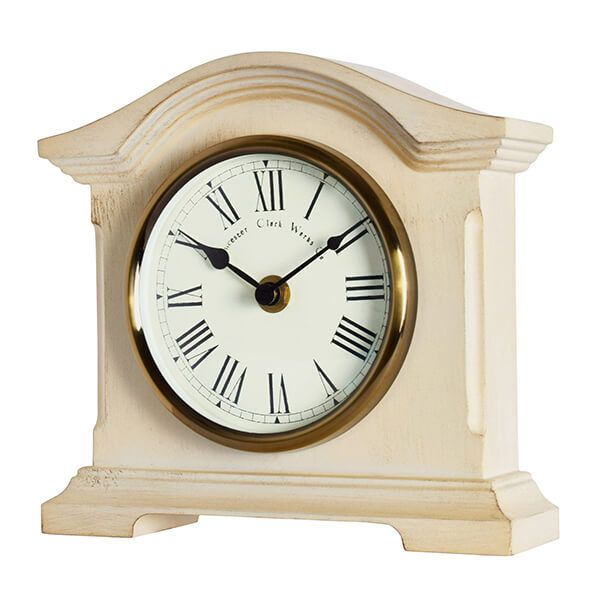 Acctim Falkenburg Mantel Clock Cream