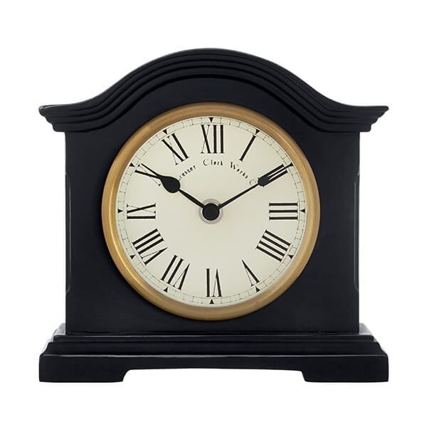 Acctim Falkenburg Mantel Clock Black