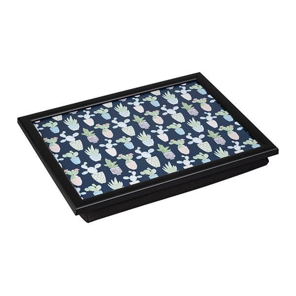 Denby Cacti Lap Tray With Black Edge