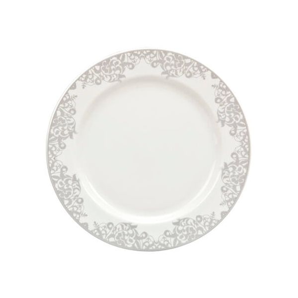 Denby Monsoon Filigree Silver Small Plate