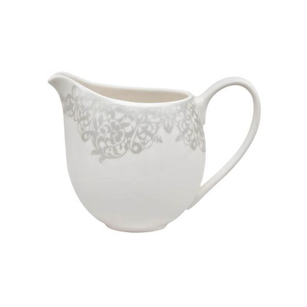 Denby Monsoon Filigree Silver Small Jug