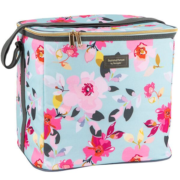 Navigate Gardenia 20L Family Cool Bag Sky Blue Floral