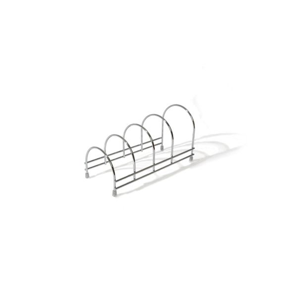 Delfinware Wireware Stainless Steel Plate Storage Rack