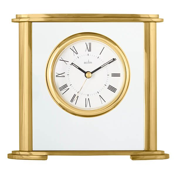 Acctim Colgrove Mantel Clock Gold