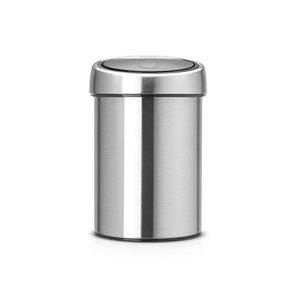 Brabantia Touch Bin 3 Litre Matt Steel