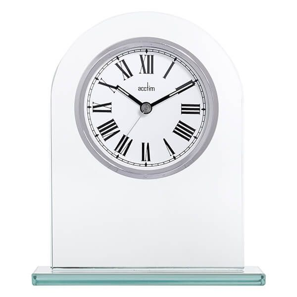 Acctim Adelaide Mantel Clock Silver