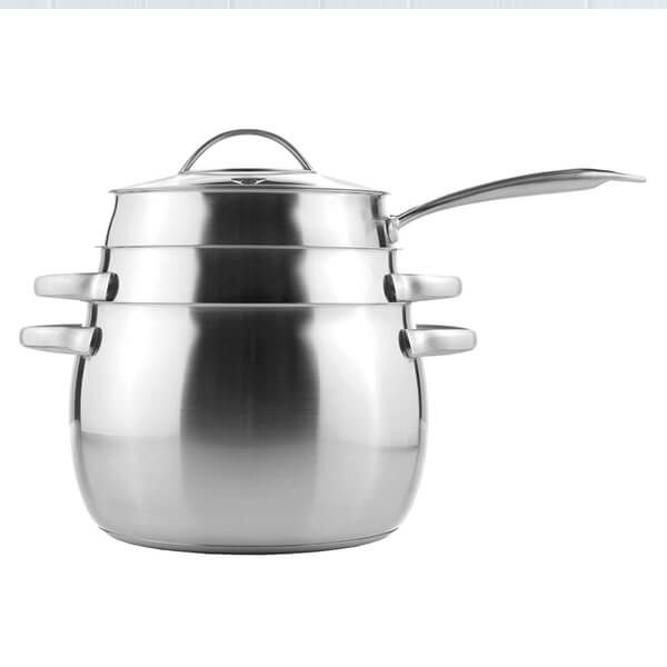 Kuhn Rikon Daily 3 Piece Cookware Set with Glass Lids