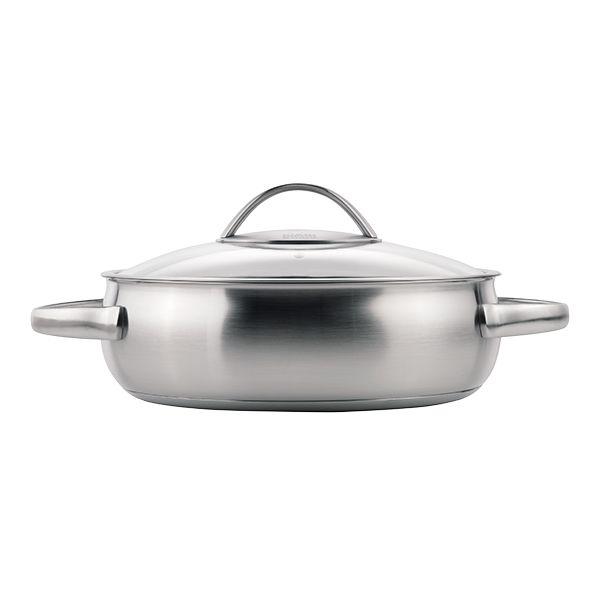 Kuhn Rikon Daily 24cm / 3L Buffet Pan with Glass Lid