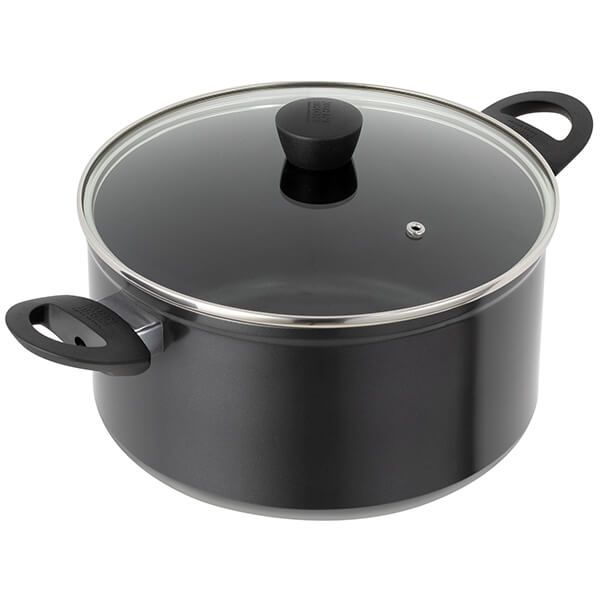 Kuhn Rikon Easy Induction 24cm / 5L Casserole with Glass Lid