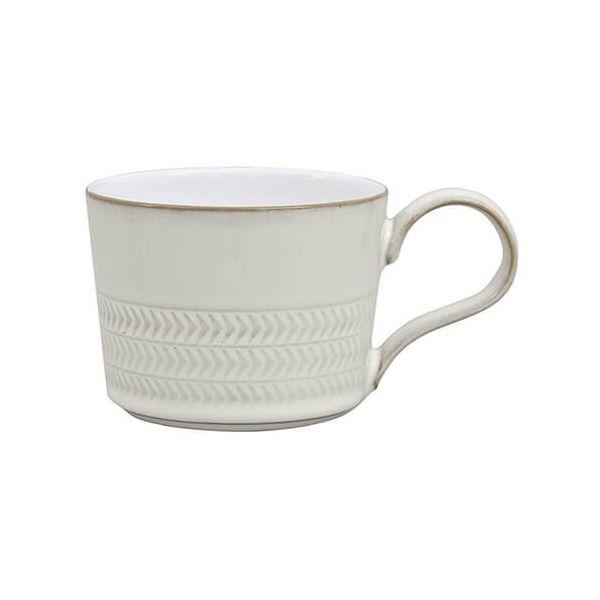 Denby Natural Canvas Textured Tea / Coffee Cup