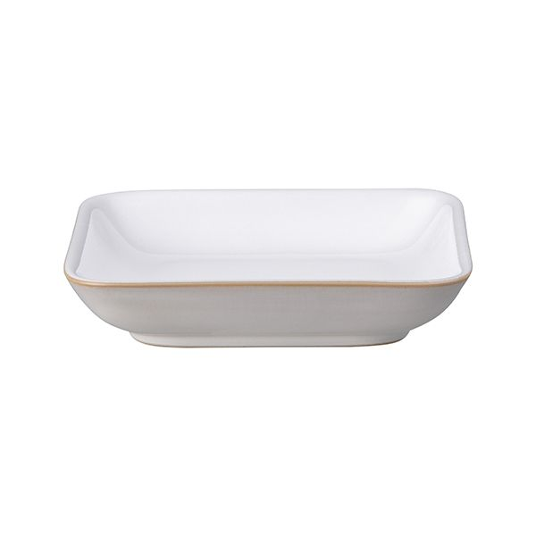 Denby Natural Canvas Small Square Plate