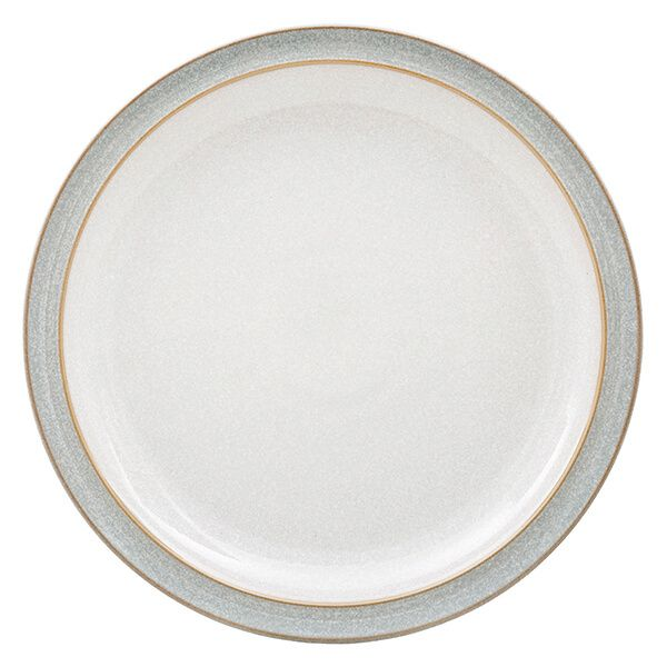 Denby Elements Light Grey Dinner Plate