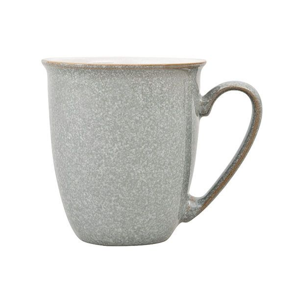 Denby Elements Light Grey Coffee Beaker/Mug