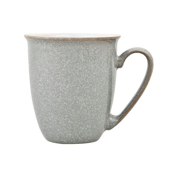 Denby Elements Light Grey Coffee Beaker/Mug