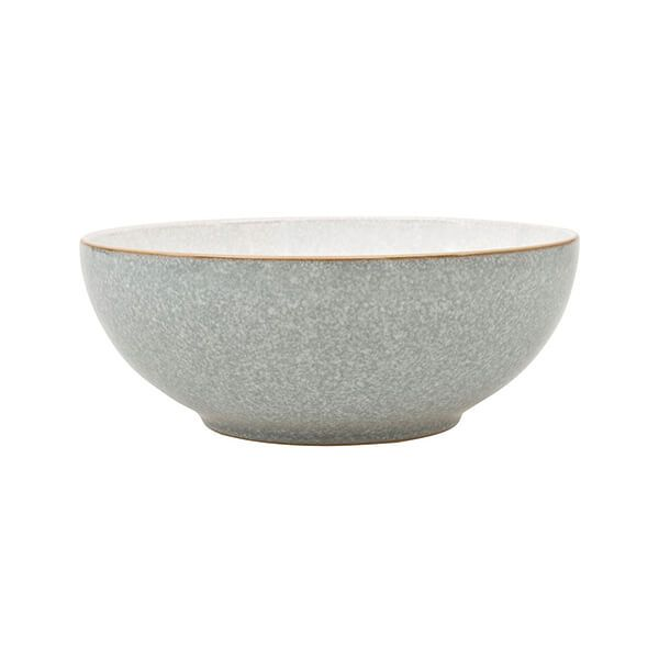 Denby Elements Light Grey Coupe Cereal Bowl