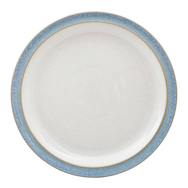 Denby Elements Blue Medium Plate