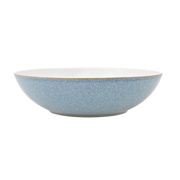 Denby Elements Blue Serving Bowl