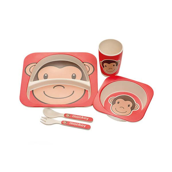 Epicurean Kids Monkey 5 Piece Set