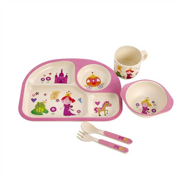 Epicurean Princess Bamboo Kids 5 Piece Set