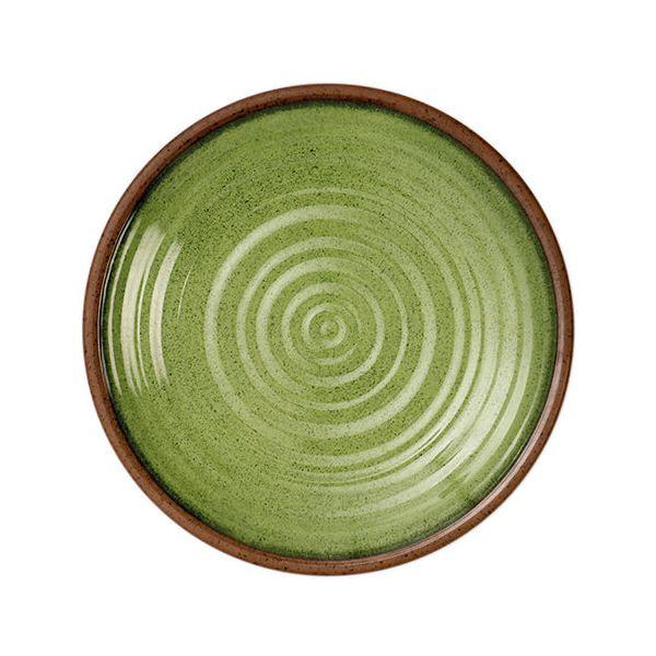 Epicurean Melamine Stoneware Sage 27cm Dinner Plate