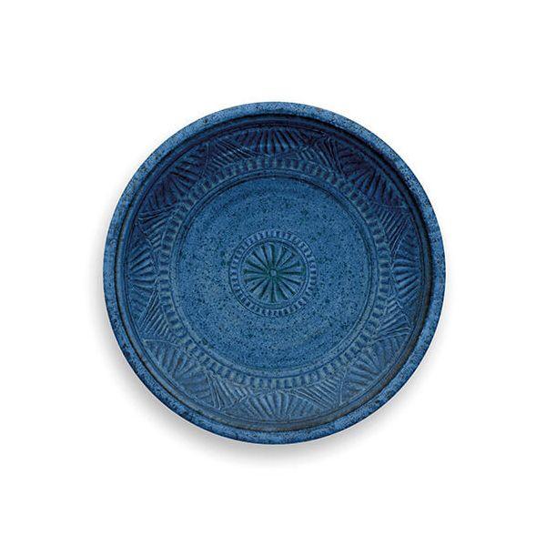 Epicurean Melamine Artisan Indigo Side Plate