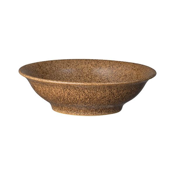 Denby Studio Craft Chestnut Small Shallow Bowl