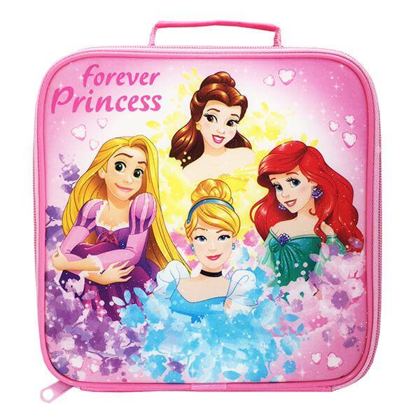 Disney Forever Princess Glitter Lunch Bag