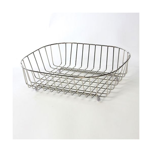 Delfinware Wireware Stainless Steel Oval Sink Basket