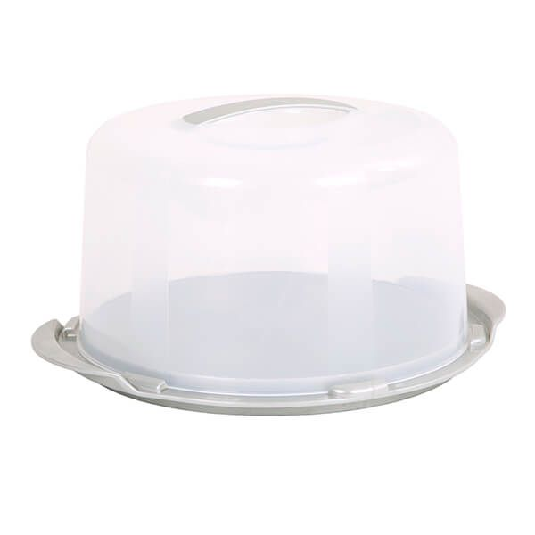 Wham Cook Aluminium & Clear Deep Round Cake/Cheese Dome