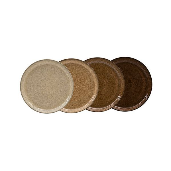 Denby Studio Craft 4 Piece Medium Coupe Plate Set