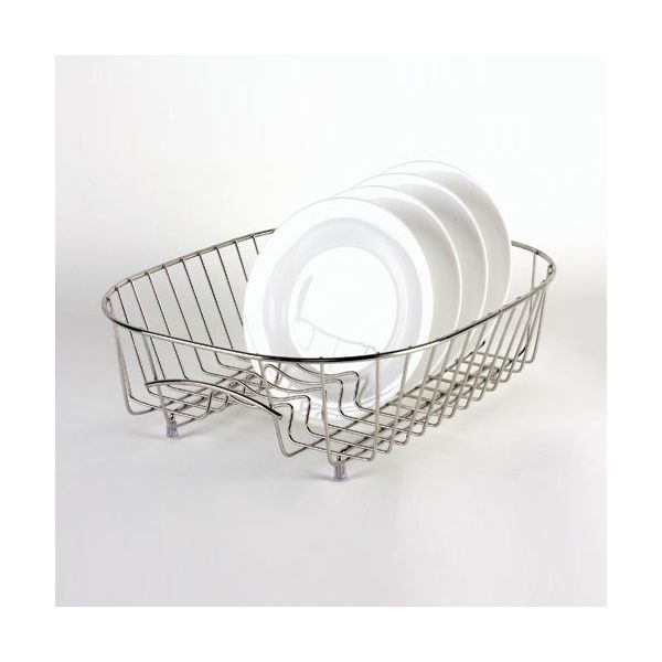 Delfinware Wireware Stainless Steel Plate Sink Basket