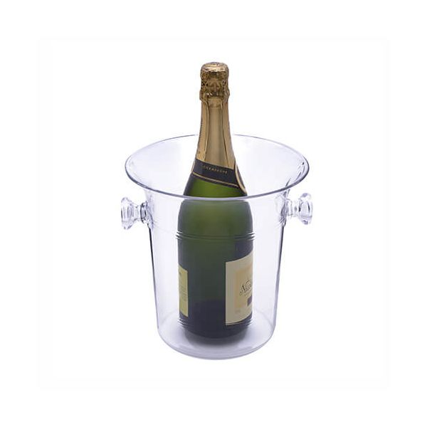 Epicurean Barware Acrylic Champagne Bucket With Handles
