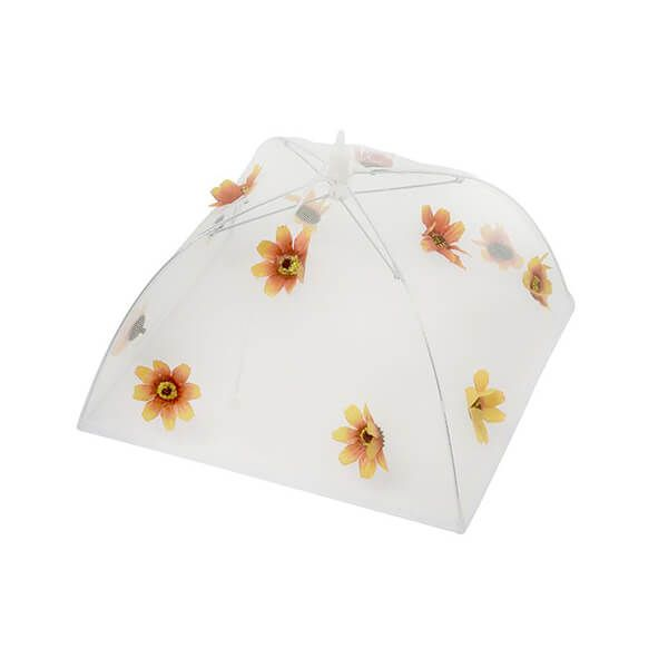 Epicurean Orange Flower Food Umbrella 30 X 30cm