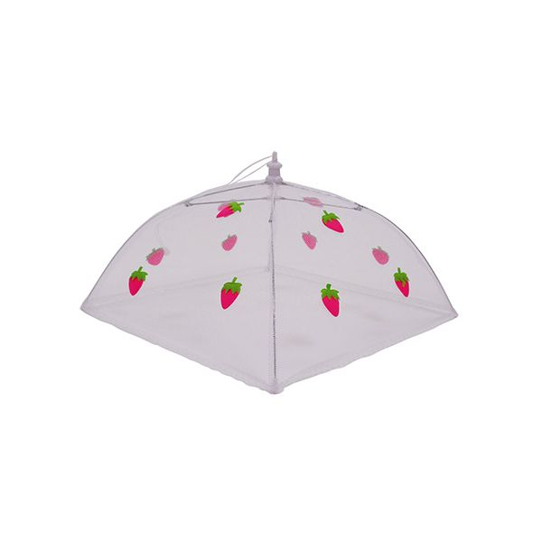 Epicurean Strawberry 30cm Folding Food Umbrella