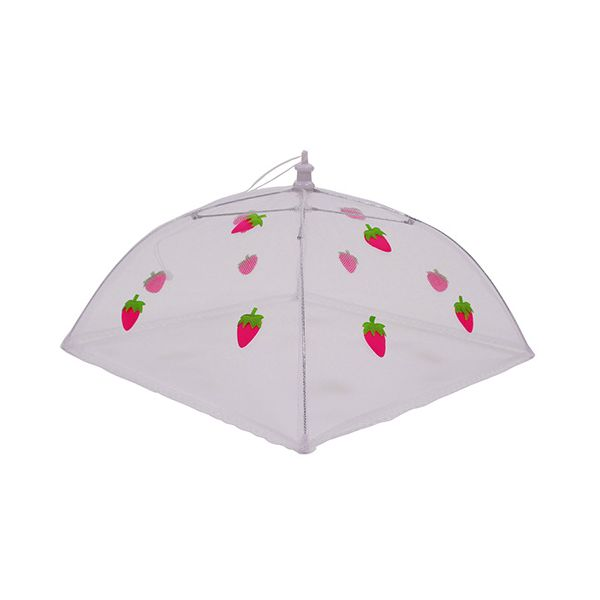 Epicurean Strawberry 48cm Folding Food Umbrella