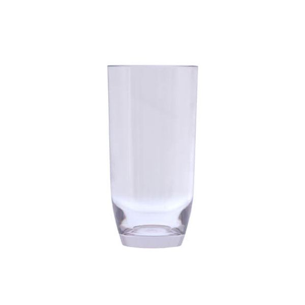 Epicurean Acrylic Hi-Ball Curved Base Tumbler